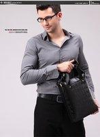 LENWE mens bags,business and han edition men single shoulder bag, the recreation bag,  hot sale Fashionable mens bag