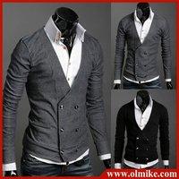 Мужские изделия из кожи и замши New men's jacket outerwear clothing slim fit stylish PU leather jackets men casual clothing outdoor coat C075