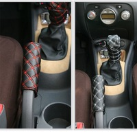 Free shipping/Car gear shift cover/Very Cute Authentic WINE automotive gear brake cover/Wholesale + Retail