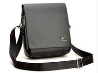 Free Shipping+ Hot sell Man Shoulder messenger leather bag,fasion&leisure man' shoulder bag [Black & Brown]