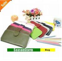 [EMS Free Shipping] Wholesale Fashion Colorful Korean Style Ultra-Thin Ladies PU Purse / Wallet (SG-41E)