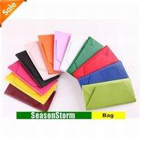 [EMS Free Shipping] Wholesale Fashion Colorful Envelope Style Ladies PU Purse / Wallet (SG-40E)