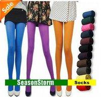 [EMS Free Shipping] Wholesale Fashion Womens 60D Velvet Sexy Legging Socks Tights (SM-26E)