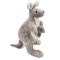 grey Kangaroo Plush Toy-203927
