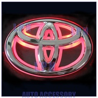 option one,car logo light for TOYOTA 09REIZ,car badge light,auto led light,auto emblem led lamp