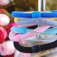 Free shipping+ 100pcs/lot+Multi color Good Elastic hair band,hair accessory,head band
