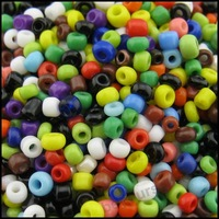 15000pcs/lot Z30 New Mixed Random Multicolor Solid Colorful Mini Seed Glass Beads 1-2mm Jewelry Making Beading Wholesale