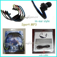 2GB Sport MP3 player / Handsfree for music play + Free Shipping/ Dropshipping