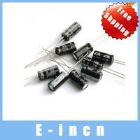 800pcs 100uF 35V Aluminum Electrolytic Capacitor Radial  free shipping