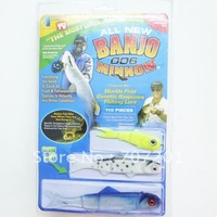 Freeshipping 10pcs BANJO Minnow 006 Fishing Lures Soft Baits (1set=110pcs)