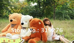 Free shipping bridthday gift Lovely teddy bear toys best price and high quality, plush toy,100cm big size one, 3 color(China (Mainland))