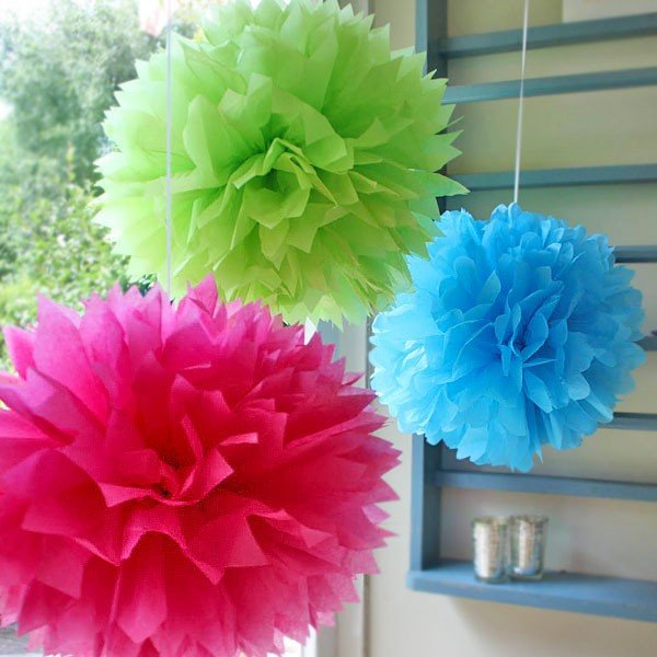 Paper Decoration Balls Enchanting Tissue Paper Ballstop How To Make Tissue Paper Balls With Tissue Design Ideas