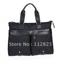 2012 New Free Shipping Oxfird Fabric Black Man Brifecase/Man Shoulder Bag-PSI0008