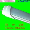 Good quality LED tube T8 lamp 20W 1200mm compatible with inductive ballast remove starter