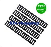 Handguard Ladder Rail Cover (18 Ladder Bar), Black (pack of 4)
