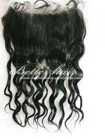 Factory wholesale virgin brazilian  remy hair lace frontal