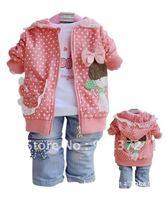 Свитер для девочек children with colorful sweater qiu dong stripe hat cardigan sweater baby boy /girls weater coat