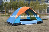 Classic lakeside tent for four person