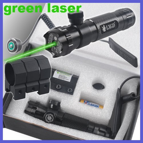 tactical rifle green laser dot sights sites rifle scopes outside adjust with mount(China (Mainland))