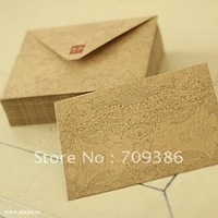 simple kraft paper gift envelope, 50pcs/lot