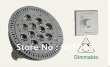 new arrival dimmable 12X1w Edison high power led par38 energy saving lamp 120v 230v AC 60Hz