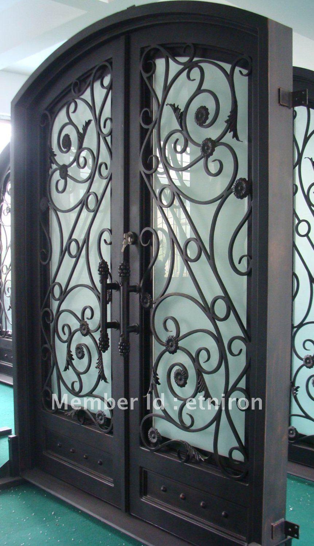 pictures of metal doors