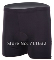 Free shipping cycling shorts underwear bicycle shorts biking padding underwear x10pcs/lot