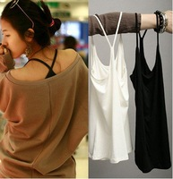 "Fashion Thin Aglet Girl Tank Tops,Women ""Y"" Sleeveless Camisole,High Quality+Mix Colors + Free Shipping"