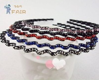 New Arrival wave shape hair hoops hair bands fashion hair jewelry free shipping