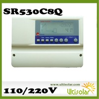 Intelligent solar controller SR609C for compact pressure solar water heaters 20m long sensor wire  free shipping