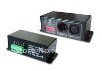 RGB DMX512 Decoder LED Dream Color Strip Controller For IC TM1803TM1804TM1809TM1812 data protocol (YK-CON-DMX -X)