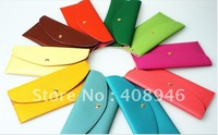 120121 free shipping  Ladies' bags 2012 New Fashion Design multi - color rectangular wallet  hanbag