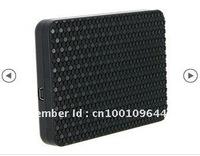"2.5"" PP Plastic USB 2.0 to SATA 480 MBPS Hard Drive Enclosure with Snap Closure (Black)"