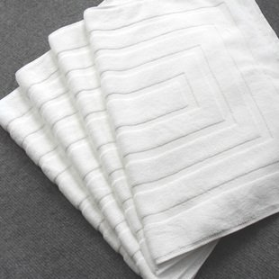 Hotel floor towel/bath mat,80*50cm,400g,Hotel Amenities,disposable suppliers,OEM customized services,Factry directly(China (Mainland))
