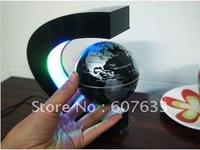 hot selling   Cool Home Decoration Magnetic Levitation Floating Globe World Map LED Light Magic Gift Color Novel Lights