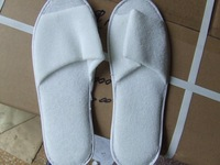 Towel fabrics Slipper,5 star international hotel,hotel disposable,LOGO OEM customized,Factry directly