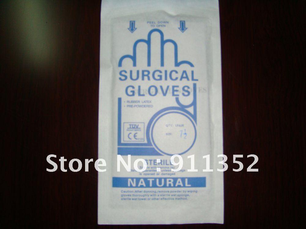 Latex des gants chirurgicaux