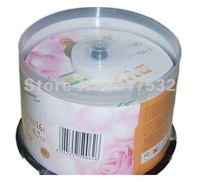 Whosale cheap Banana rose DVD-R 4.7GB 16X blank media DVD 50pcs/lot Free shipping