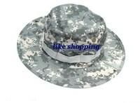 Round-brimmed Hat Sun Bonnet James Super Light Sniper Hat ( ACU ) free shiping