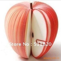 Free Shipping creative Apple Memo Pads,Fruit Note Pads,Memo Stickers