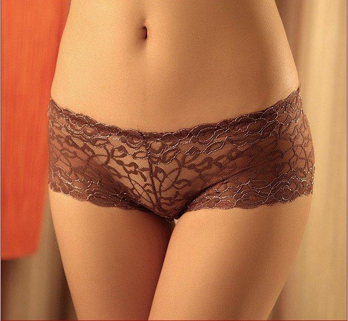 Free Shipping New Ice Silk Men Underwear Luury Panties Pants