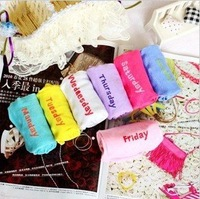 Free Shipping Women's 1 Week Socks,women's breathe freely short socks,cotton ankle socks