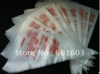 wholesale -100pcs 26cm Small size plastic Pastry tools Baking Cake Cookie decorations one-off bags