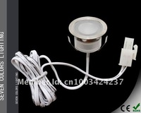 Free shipping: 0.3W IP54 Plinth Light LED Floor Light: 6pcs lights + 1pc 8W LED Driver (SC-B105A)