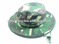Tactical USMC Woodland Camo Boonie Fishing Bucket Hats Cap