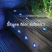 Free Shipping: 10 x 30MM LED Deck Light Kits Plinth LED Light for Outdoor: 10pcs Decking Light&1pc 8W IP67 LED Driver (SC-B105B)