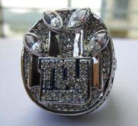 Free Shipping DHL / EMS 10PCS  2011 NEW YORK GIANTS SUPER BOWL REPLIA RING CHAMPIONSHIP RING 11 SIZE