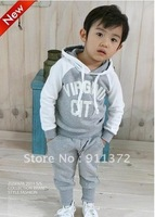Свитер для девочек children with colorful sweater qiu dong stripe hat cardigan sweater baby boy /girls weater coat