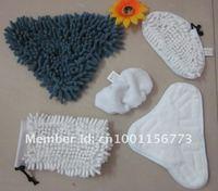 5 in 1  Mop cloths For h20 Mop X5 Steamer mop  Free fedex Shipping 100set(1set=5pcs)
