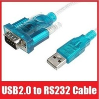 9 pin USB to RS232 /com converter Y-105 USB to serial cable 1.2m 1pc free shipping #6904